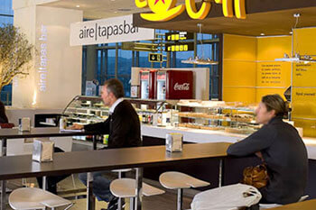 Bars and Coffee shops at Alicante airport