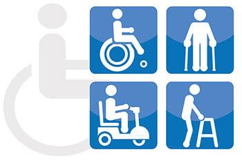 Disabled facilities at Alicante airport