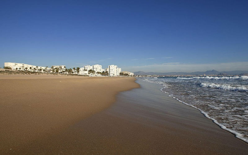 Playa de Los Saladares beach