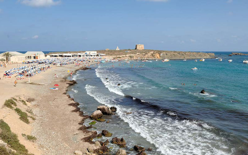 Tabarca Island beach