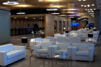 VIP lounge at Alicante Airport