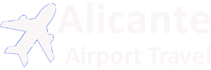 Alicante Airport Travel Logo Image