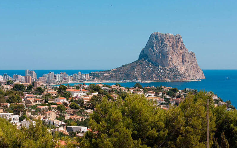 Calpe - picture-perfect Mediterranean beachside town