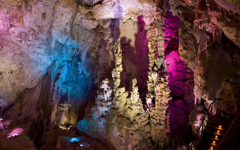 Cuevas de Canelobre - Canelobre Caves - Inside the cave