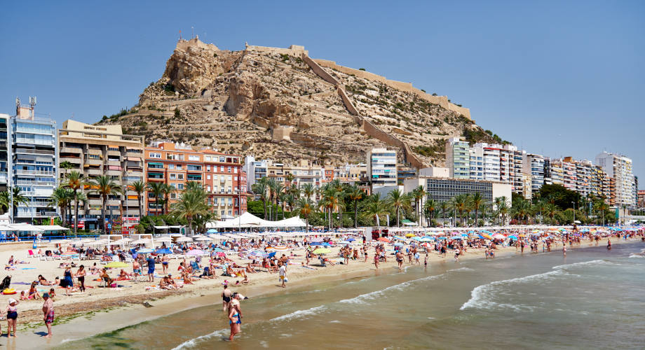Postiguet Beach Alicante City