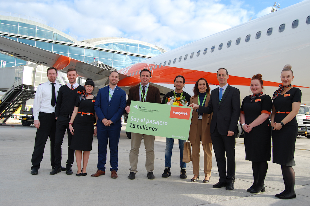 15th Millionth Passenger welcomed