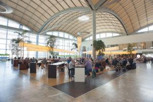 Interior of Alicante-Elche Airport