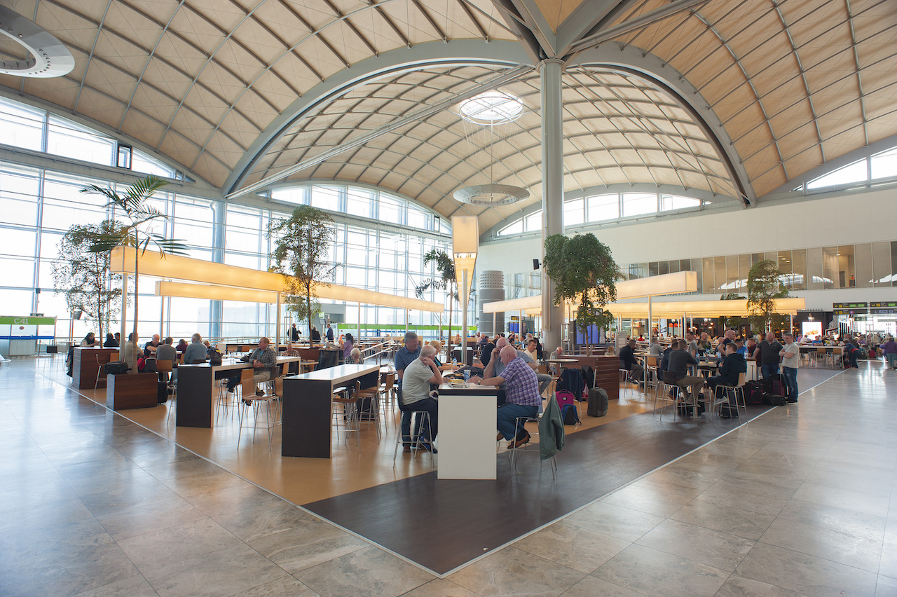 Interior of Alicante-Elche Airport