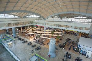 Inside Alicante-Elche Airport