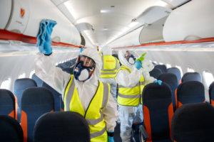 Safety measures on board EasyJet