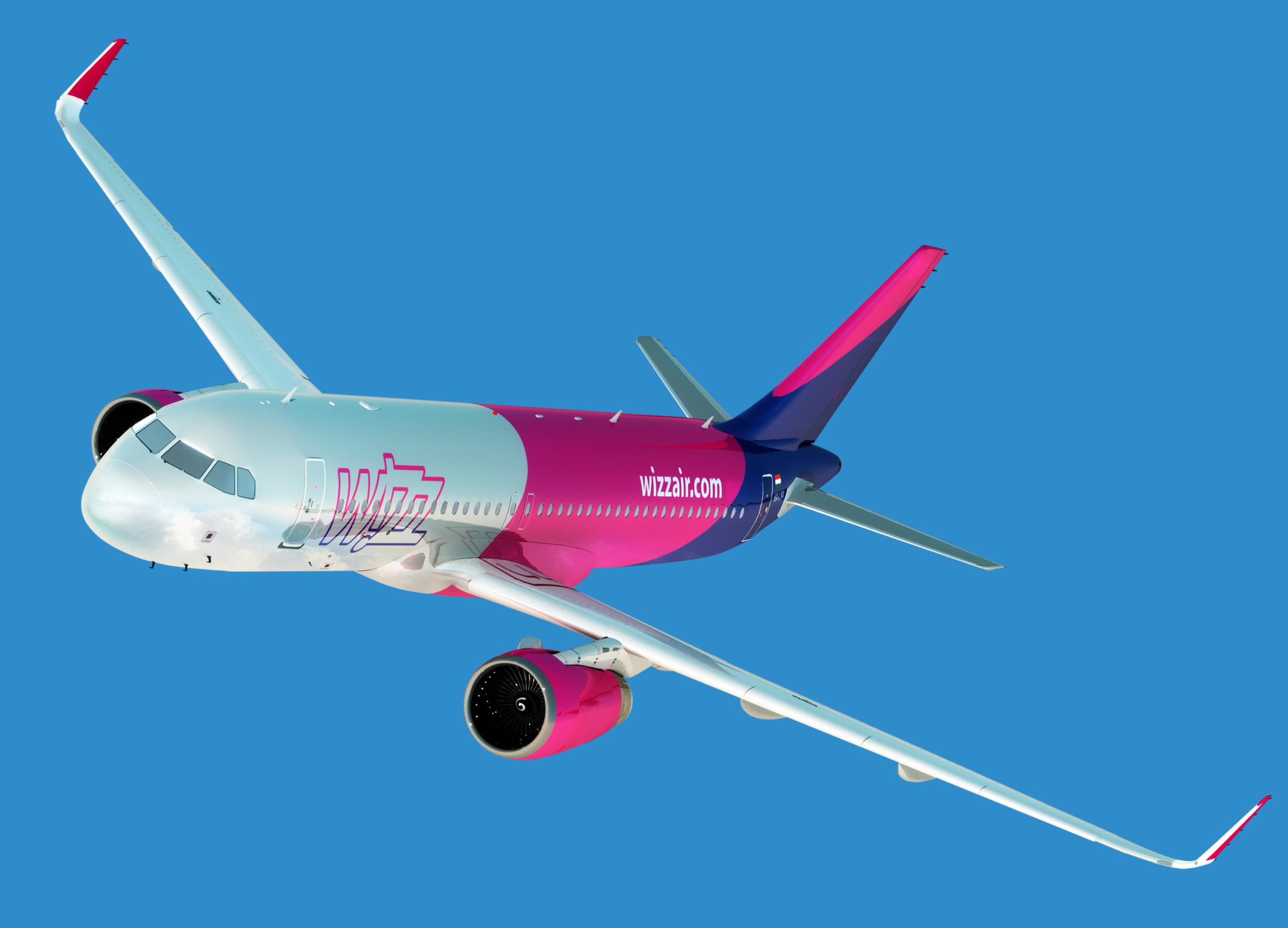 Wizz Air flight