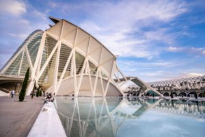 Museu de les Cièncie in Valencia