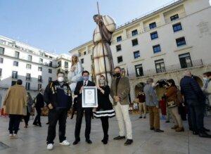 Alicante nativity scene ceremony
