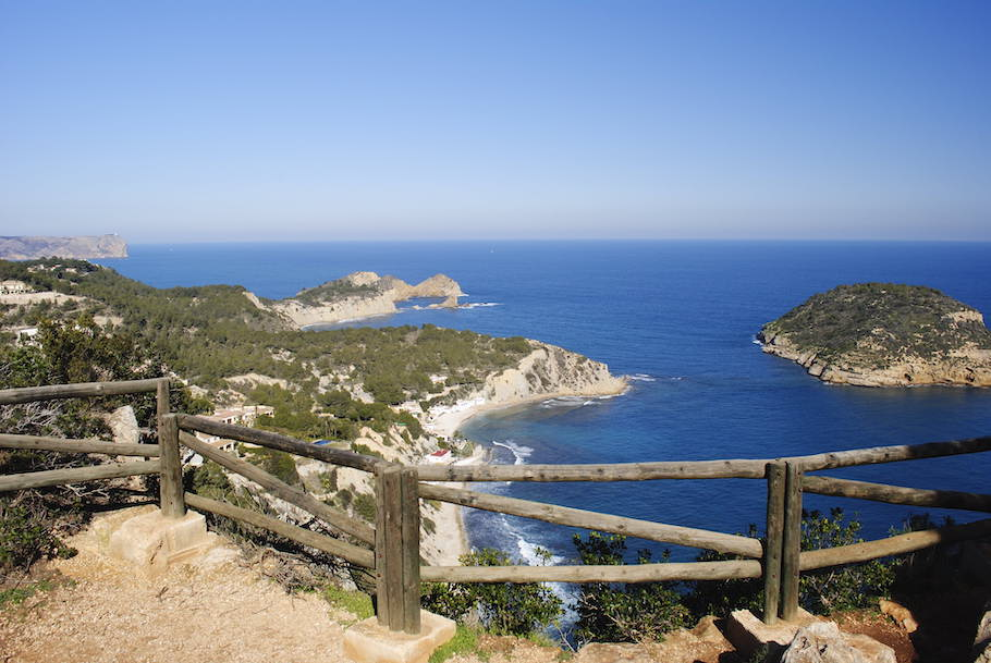 Lookout view over Costa Blanca