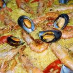 Paella dish